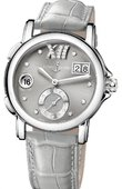 Ulysse Nardin Dual Time Ladies 243-22/30-02 GMT Big Date 37mm