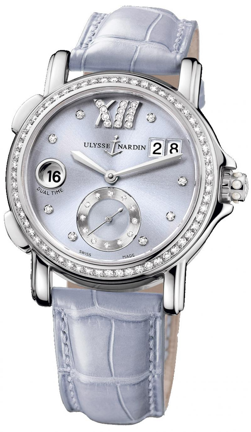 243-22B/30-07 Ulysse Nardin GMT Big Date 37mm Dual Time Ladies