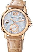 Ulysse Nardin Dual Time Ladies 246-22/392 GMT Big Date 37mm