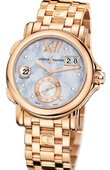 Ulysse Nardin Dual Time Ladies 246-22-8/392 GMT Big Date 37mm