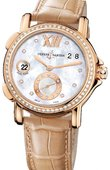 Ulysse Nardin Dual Time Ladies 246-22B/391 GMT Big Date 37mm