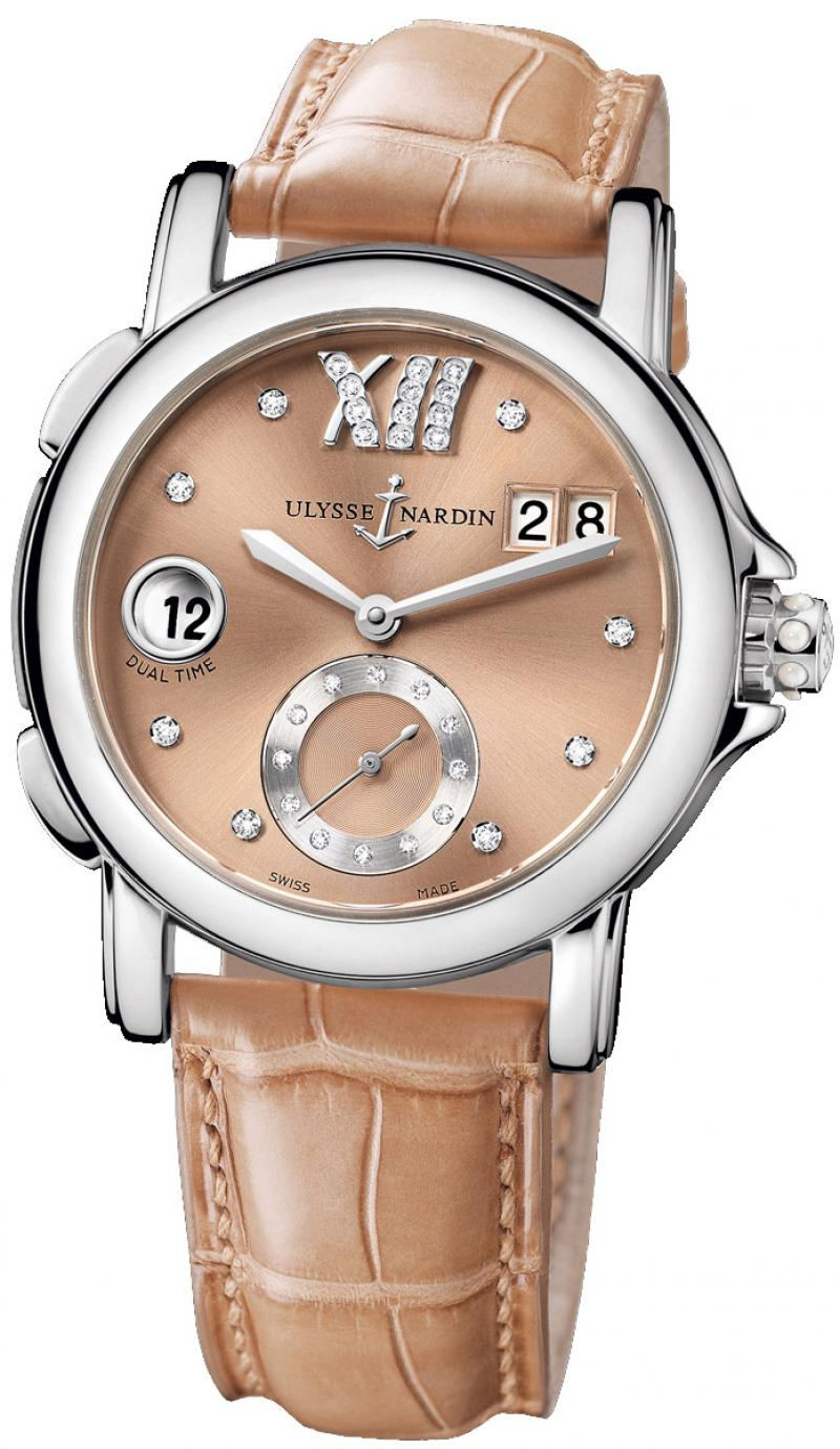 243-22/30-09 Ulysse Nardin GMT Big Date 37mm Dual Time Ladies