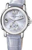 Ulysse Nardin Dual Time Ladies 243-22/30-07 GMT Big Date 37mm