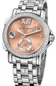 Ulysse Nardin Dual Time Ladies 243-22B-7/30-09 GMT Big Date 37mm