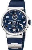 Ulysse Nardin Marine Manufacture 1183-126-3/63 Chronometer 43 mm Steel