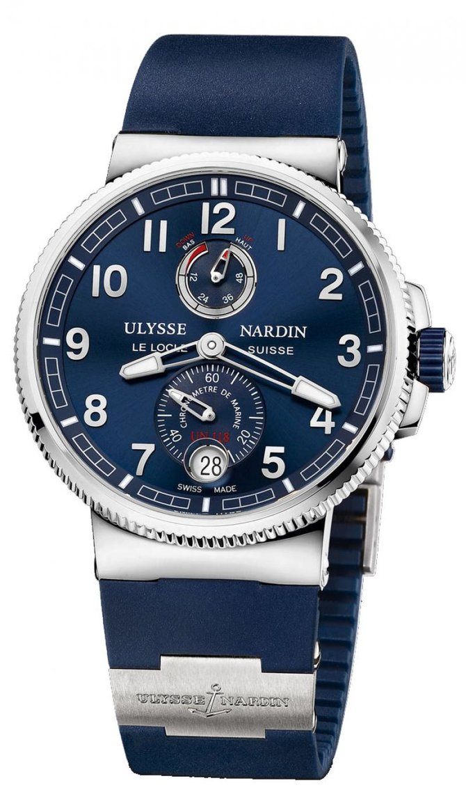 Ulysse Nardin 1183-126-3/63 Marine Manufacture Chronometer 43 mm Steel
