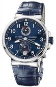 Ulysse Nardin Marine Manufacture 1183-126/63 Chronometer 43 mm Steel