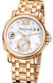 Ulysse Nardin Dual Time Ladies 246-22-8/391 GMT Big Date 37mm