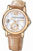 Ulysse Nardin Dual Time Ladies 246-22/391 GMT Big Date 37mm