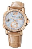 Ulysse Nardin Dual Time Ladies 246-22B/392 GMT Big Date 37mm