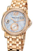 Ulysse Nardin Dual Time Ladies 246-22B-8/392 GMT Big Date 37mm