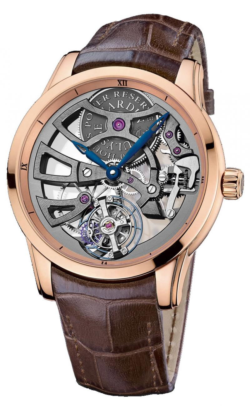 1702-129 Ulysse Nardin Skeleton Manufacture Limited Edition 99 Specialities