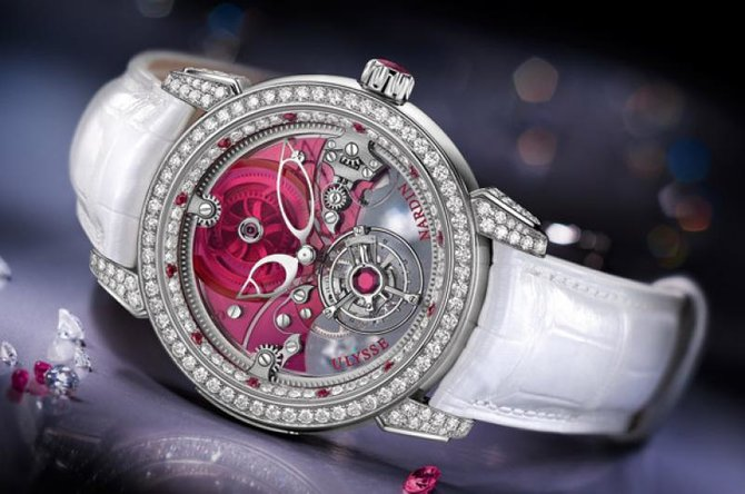 Ulysse Nardin 799-88 Specialities Royal Ruby Tourbillon Limited Edition 99 - фото 2