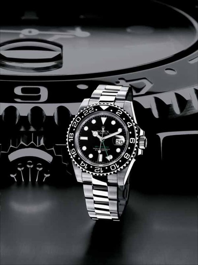 116710LN Rolex GMT Oyster Perpetual GMT-Master II
