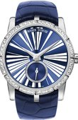 Roger Dubuis Excalibur 36 Automatic in Blue Excalibur 36 Automatic