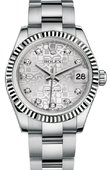 Rolex Datejust 178274 sjdo 31mm Steel and White Gold
