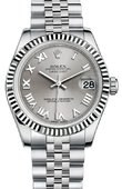 Rolex Datejust 178274 srj 31mm Steel and White Gold