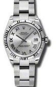 Rolex Datejust 178274 sro 31mm Steel and White Gold