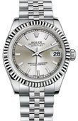 Rolex Datejust 178274 ssj 31mm Steel and White Gold