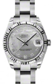 Rolex Datejust 178274 wgdmdao 31mm Steel and White Gold