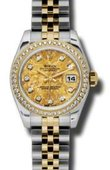Rolex Datejust Ladies 179383 ygcdj 26mm Steel and Yellow Gold