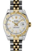 Rolex Datejust Ladies 179313 ssj 26mm Steel and Yellow Gold