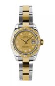 Rolex Datejust Ladies 179313 chgdmdo 26mm Steel and Yellow Gold