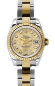 Rolex Datejust Ladies 179173 ygjcdo 26mm Steel and Yellow Gold