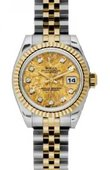 Rolex Datejust Ladies 179173 ygcdj 26mm Steel and Yellow Gold