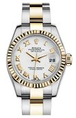 Rolex Datejust Ladies M179173-0184 26mm Steel and Yellow Gold