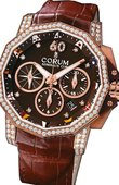 Corum Admirals Cup Challenger 753.694.85/0002 AG52 Admiral`s Cup Challenger Chrono 44