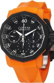 Corum Admirals Cup Challenger 753.814.02/F374 AN21 Admiral`s Cup Challenger Chrono Rubber 44