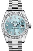 Rolex Datejust Ladies M179136-0017 26mm Platinum