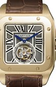 Cartier Santos De Cartier W2020019 Santos 100 Flying Tourbillon