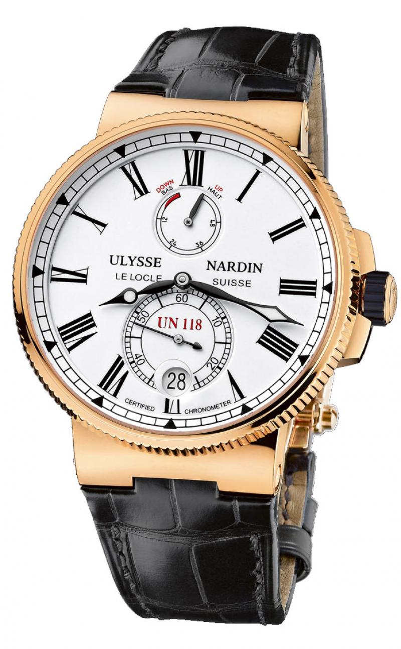 1186-122/40 Ulysse Nardin Chronometer 45 mm RG Limited Edition 350 Marine Manufacture