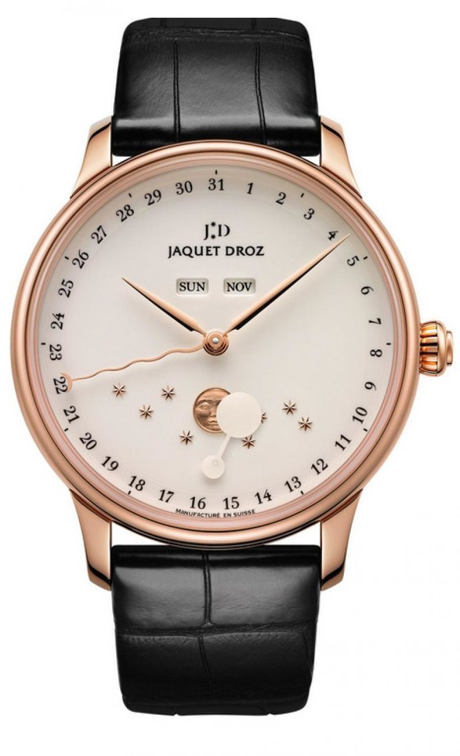 J012633203 Jaquet Droz The Eclipse Ivory Enamel 43mm Majestic Beijing