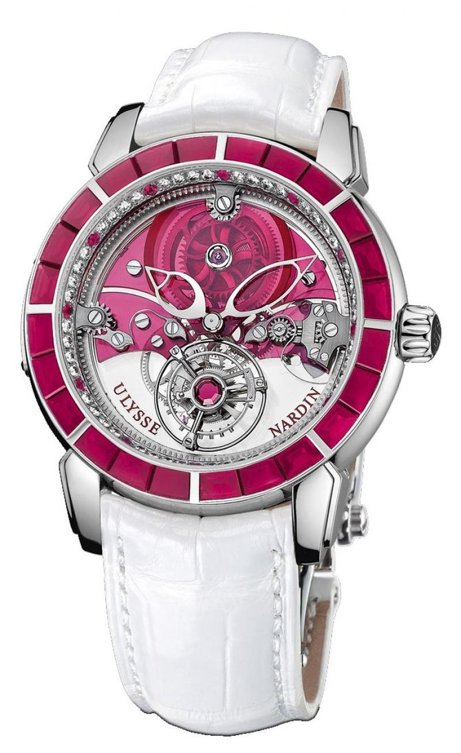 799-88BAG/CHAI Ulysse Nardin Royal Ruby Tourbillon Limited Edition 99 Specialities