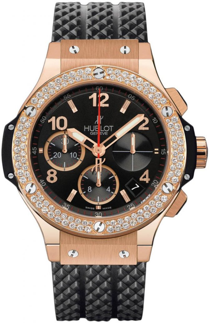 Hublot 341.PX.130.RX.114 Big Bang 41mm Red Gold Diamonds - фото 1