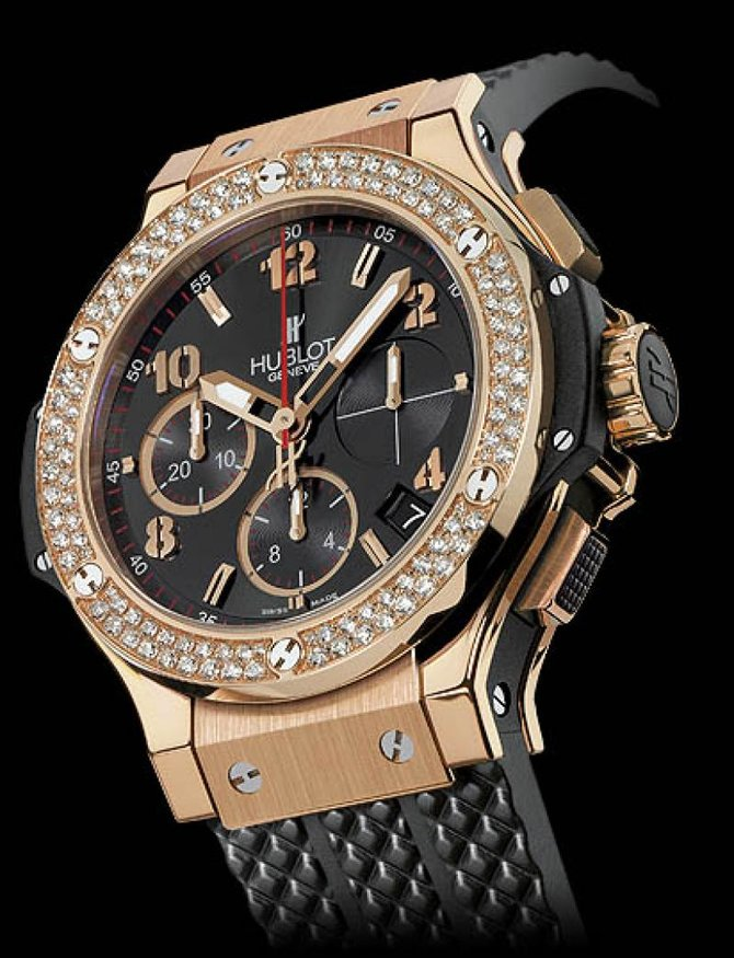 Hublot 341.PX.130.RX.114 Big Bang 41mm Red Gold Diamonds - фото 2
