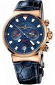 Ulysse Nardin Maxi Marine Chronograph 356-68LE Blue Seal Limited Edition 999
