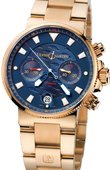 Ulysse Nardin Maxi Marine Chronograph 356-68LE-8 Blue Seal Limited Edition 999
