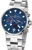 Ulysse Nardin Maxi Marine Chronograph 353-68LE-7 Blue Seal Limited Edition 1846
