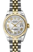 Rolex Datejust Ladies 179173 mrj 26mm Steel and Yellow Gold