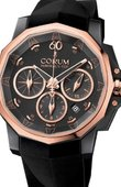 Corum Admirals Cup Challenger 753.691.93/F371 AN32 Admiral's Cup Challenge Black & Gold 44