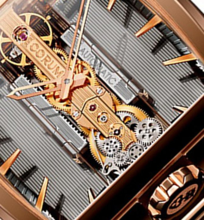 Corum 313.165.55/V100 GL10R Golden Bridges Golden Bridge Automatic - фото 2
