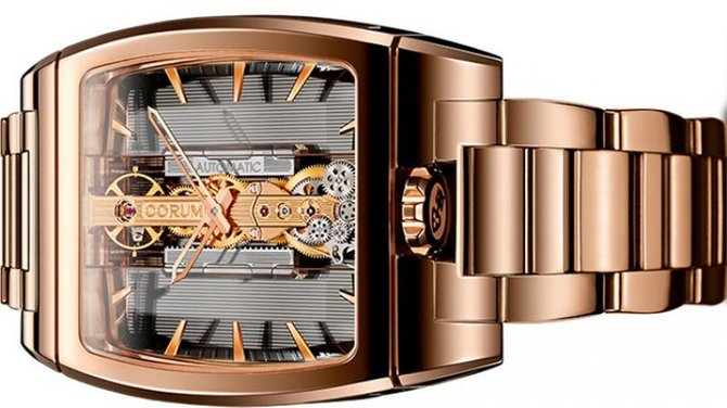 Corum 313.165.55/V100 GL10R Golden Bridges Golden Bridge Automatic - фото 3