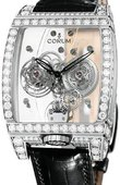 Corum Golden Bridges 382.851.69/0F01 0000 Golden Tourbillon Panoramique Diamants