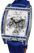 Corum Golden Bridges 382.853.69/0F83 0000 Golden Tourbillon Panoramique Diamants