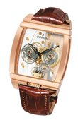Corum Golden Bridges 382.850.55/0F02 0000 Golden Tourbillon Panoramique Grey Sapphire