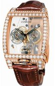 Corum Golden Bridges 382.851.85/0F02 0000 Golden Tourbillon Panoramique Grey Sapphire